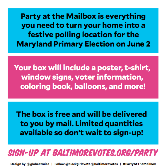 PARTY AT THE MAILBOX 2020