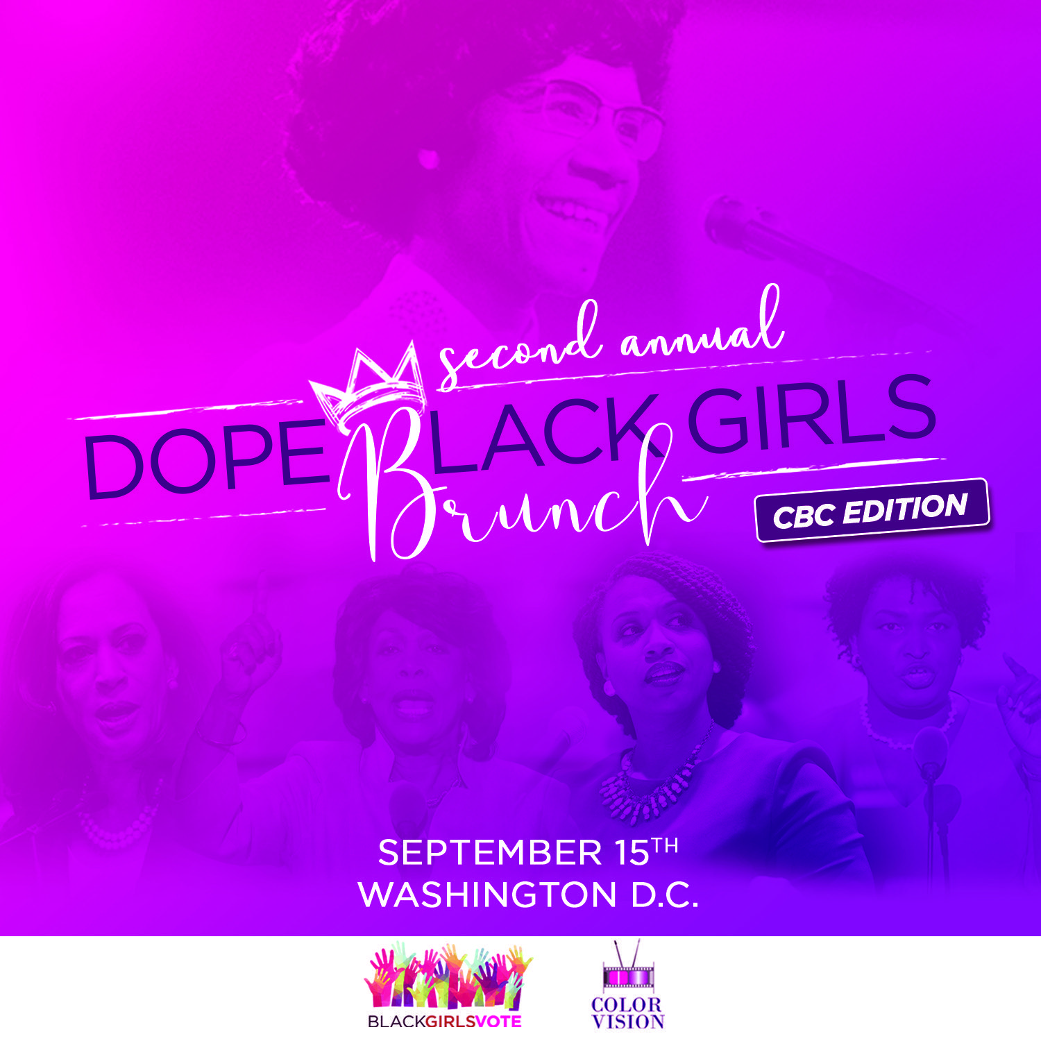 Dope Black Girls Brunch CBC Edition 2019