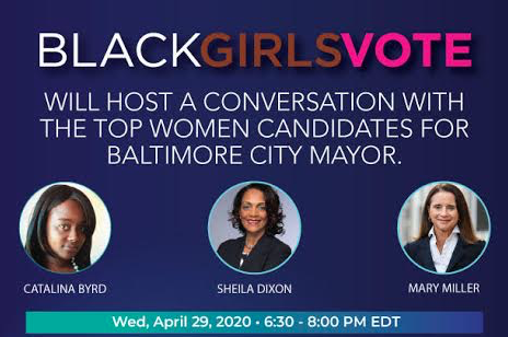 CONVERSATION WITH TOP FEMALE MAYORAL CANDIDATES FOR BALTIMORE